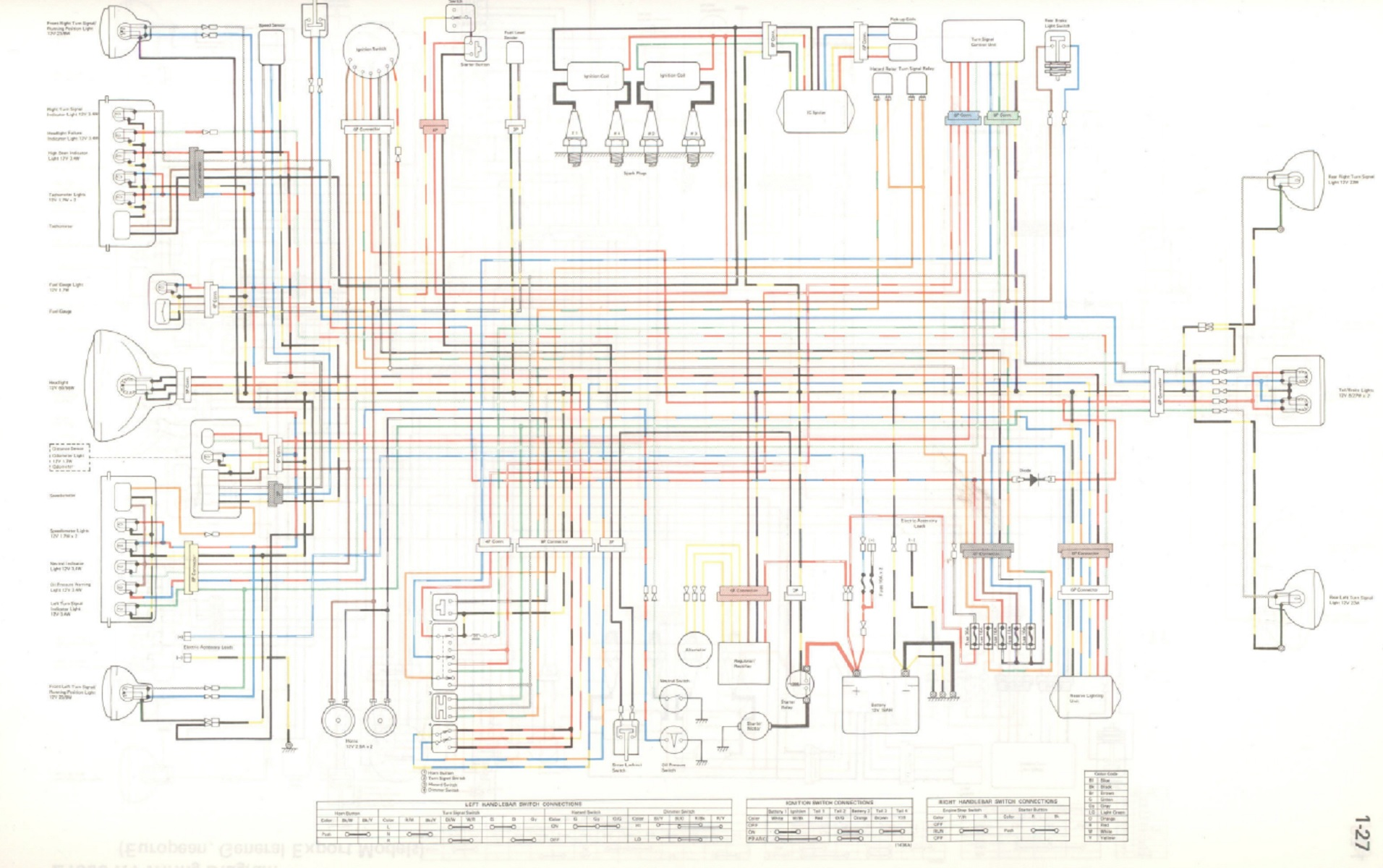 kz1000 police wiring diagram - fordmanuals 1969 colorized mustang wiring  diagrams ebook for wiring diagram schematics  wiring diagram schematics