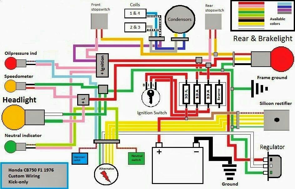 honda cb750 chopper wiring diagram eo 9746  honda cb750 chopper wiring diagram free diagram  honda cb750 chopper wiring diagram free