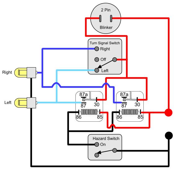 Pleasant Motorcycle Turn Signal Schematic Basic Electronics Wiring Diagram Wiring Cloud Xortanetembamohammedshrineorg