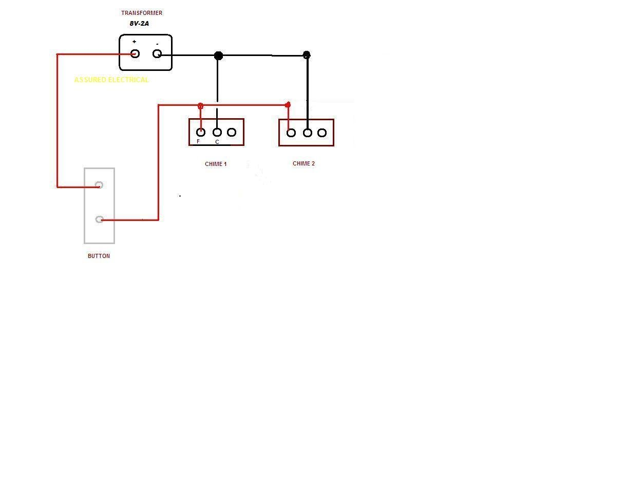 Zc 5499 Wiring 1 Doorbell 2 Chimes Wiring Diagram