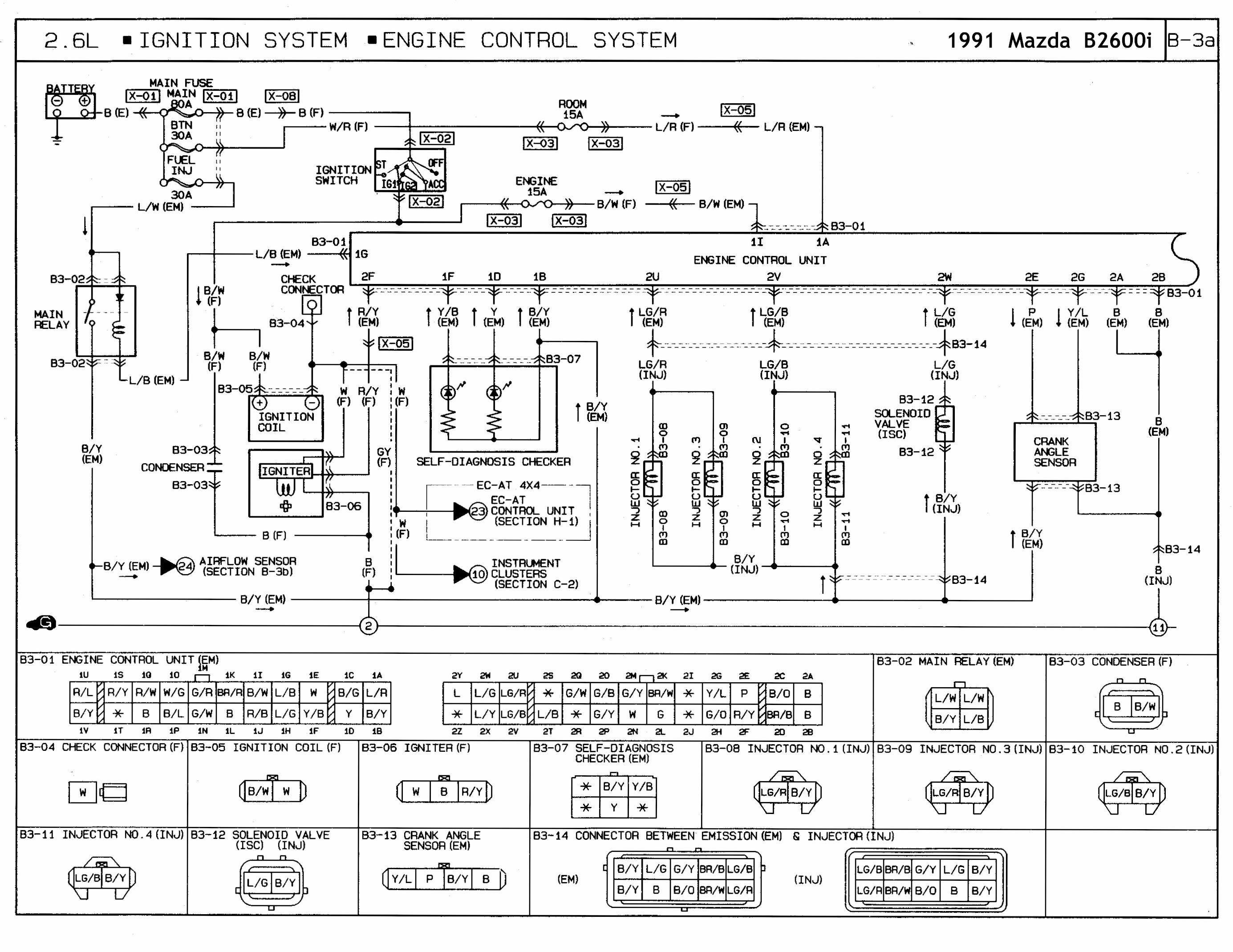mazda 626 distributor wiring diagram as 0810  mazda miata wiring diagram electrical schematics and  mazda miata wiring diagram electrical