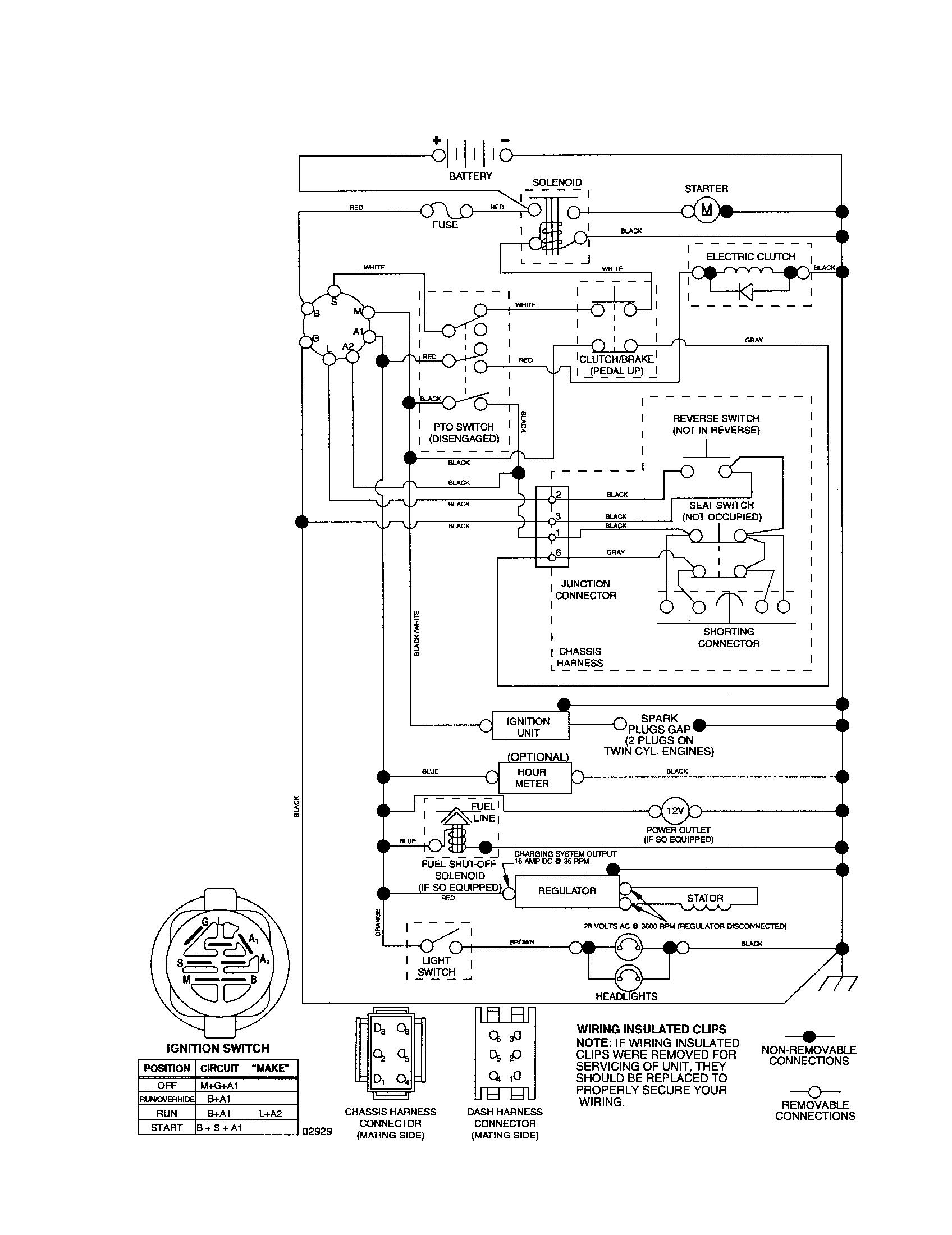 [SCHEMATICS_49CH]   | Poulan Pro Riding Mower Wiring Diagram |  |