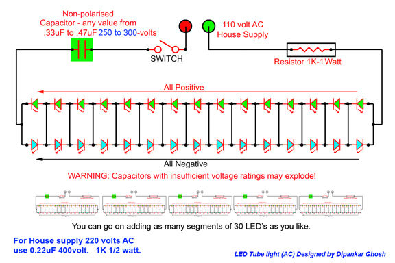 Prime Led Tube Light Ac 3 Steps Wiring Cloud Timewinrebemohammedshrineorg