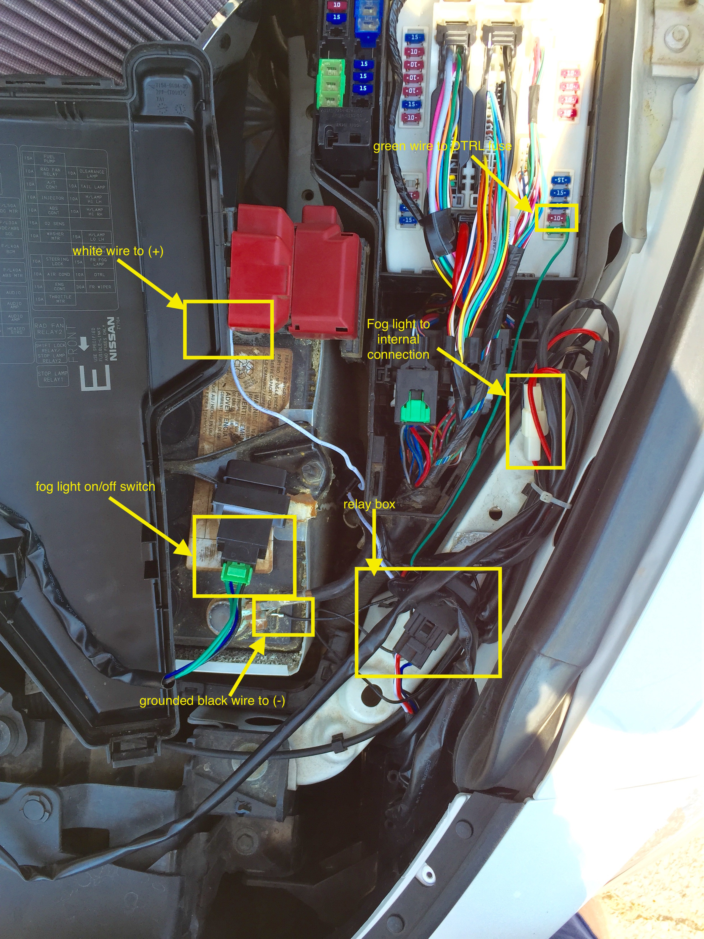 Admirable Fog Light Wiring Harness Issues Pic Included Maxima Forums Wiring Cloud Licukosporaidewilluminateatxorg