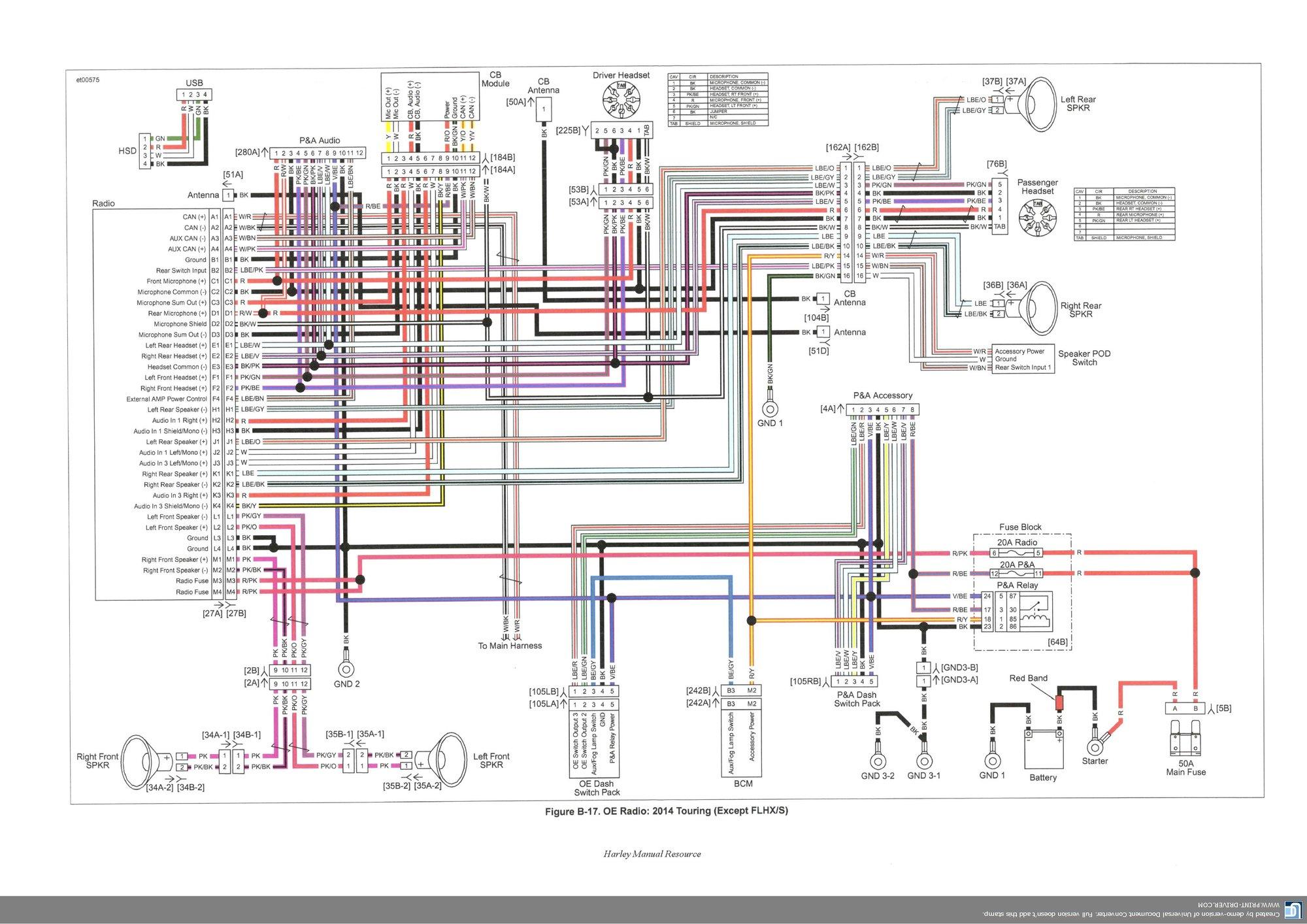 headlight wiring diagram 2016 street glide fk 1586  2011 wiring diagram help harley davidson forums free diagram  harley davidson forums free diagram