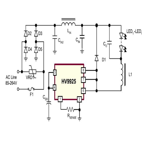 Excellent How To Build A Pwm Programmed Power Saving White Led Driver Circuit Wiring Cloud Rdonaheevemohammedshrineorg