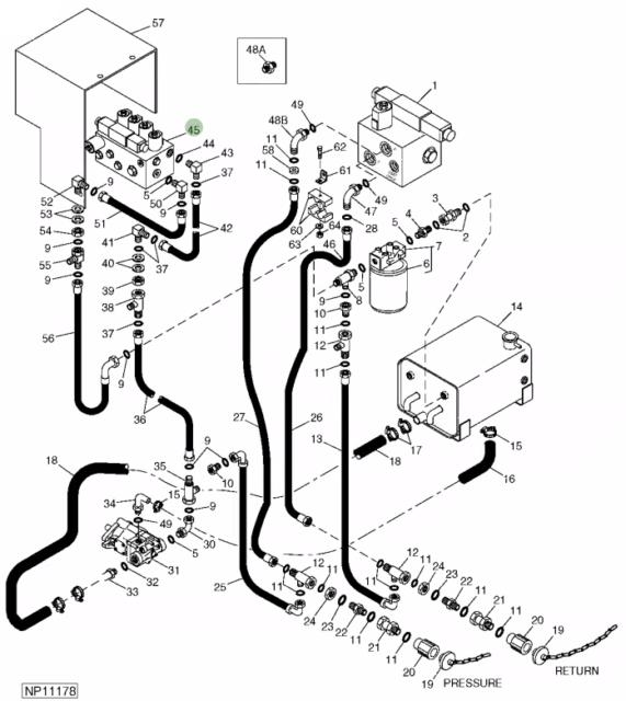Dl 9623 John Deere Alternator Wiring Diagram Manuals Omview Schematic Wiring