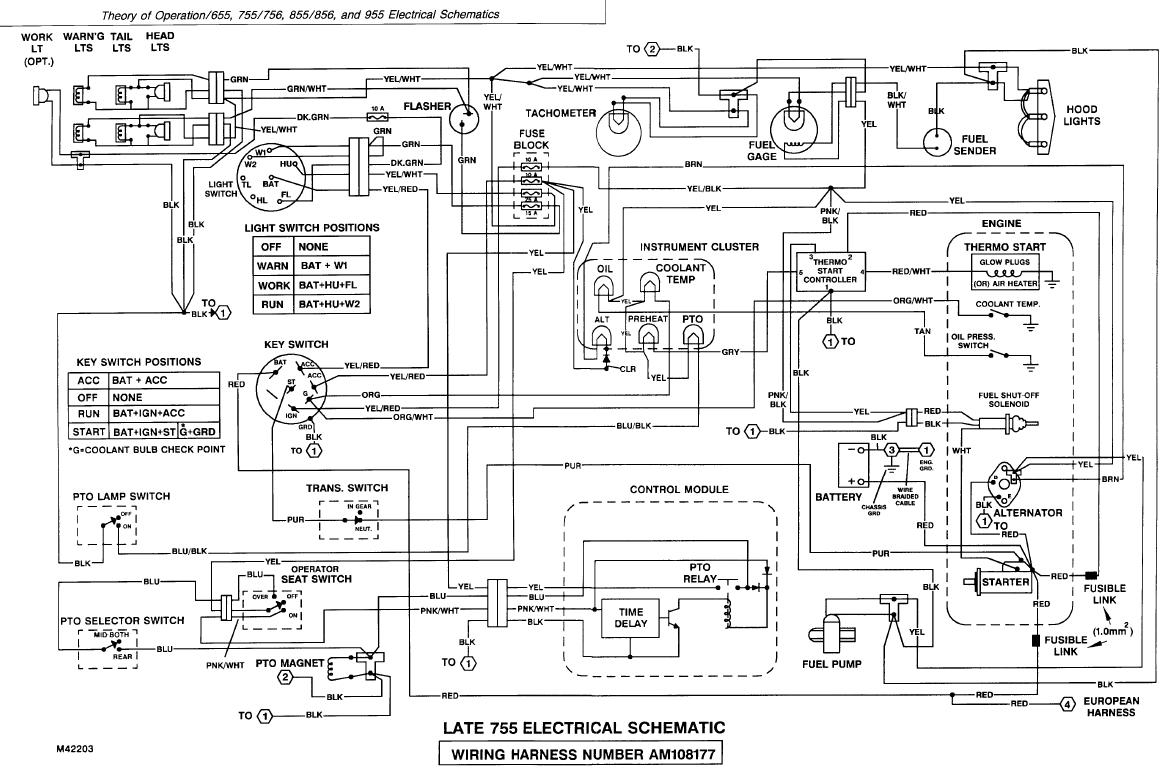 Admirable John Deere 955 Wiring Diagram My Wiring Diagram Wiring Cloud Animomajobocepmohammedshrineorg