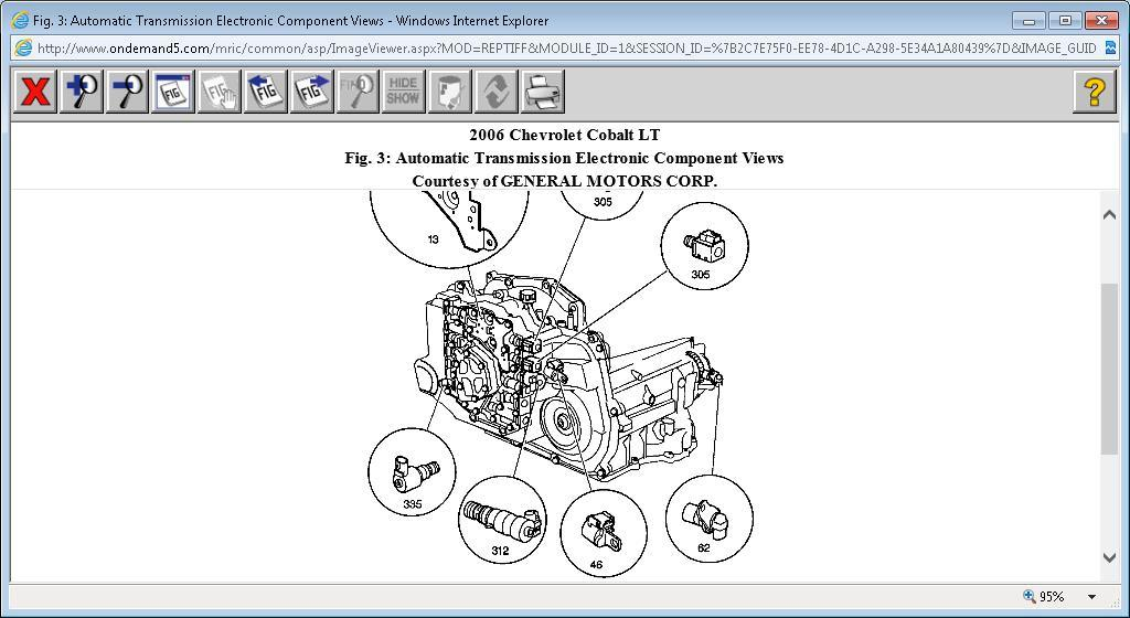 Zn 3096  2006 Cobalt Transmission Wiring Diagram