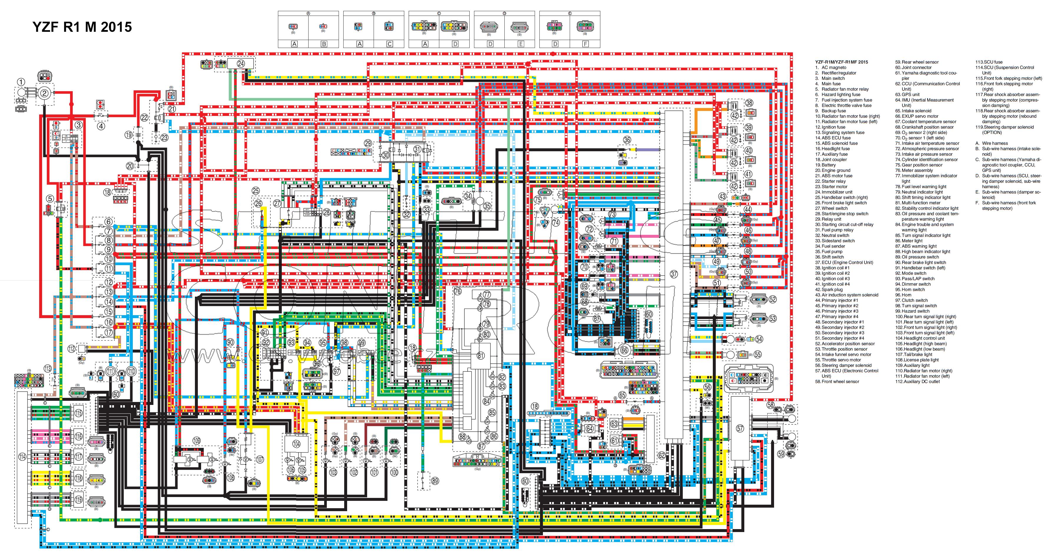 EW 40] 40 Yamaha Yzf R40 Wiring Diagram Download Diagram