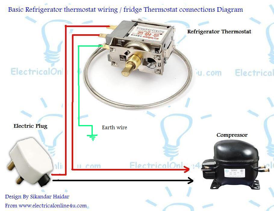 Miraculous Refrigerator Fridge Thermostat Wiring Diagram Guide Electrical Wiring Cloud Inklaidewilluminateatxorg