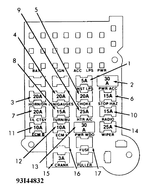Ad 9763  S10 Fuse Box Diagram Chevy S10 Alternator Wiring