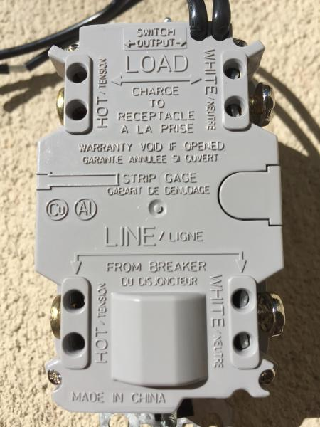 Astonishing Gfci Switch Combo Wiring Diagram Basic Electronics Wiring Diagram Wiring Cloud Ostrrenstrafr09Org