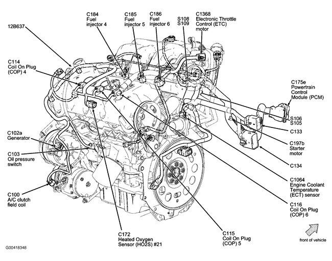 MN_3194] 2008Fordfusionenginediagram Ford Explorer Engine Diagram Mercury  Wiring DiagramDogan Waro Faun Perm Leona Mohammedshrine Librar Wiring 101