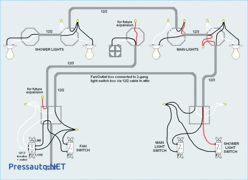 Wiring Diagram For Gfci And Light Switch