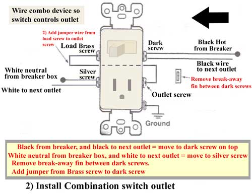 [DIAGRAM_1CA]  VB_7460] Wiring Wall Switch Outlet Combo Download Diagram | Leviton Combo Switch Wiring Diagram |  | Gho Synk Getap Getap Xero Mohammedshrine Librar Wiring 101