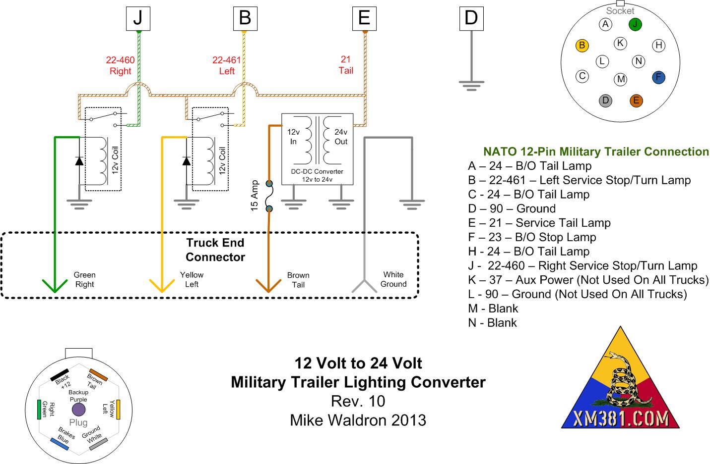 Ey 8623 7 Pin Tractor Trailer Wiring Diagram Download Diagram