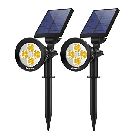 Prime Amazon Com Nekteck Solar Lights Outdoor 2 In 1 Solar Spotlights Wiring Cloud Icalpermsplehendilmohammedshrineorg