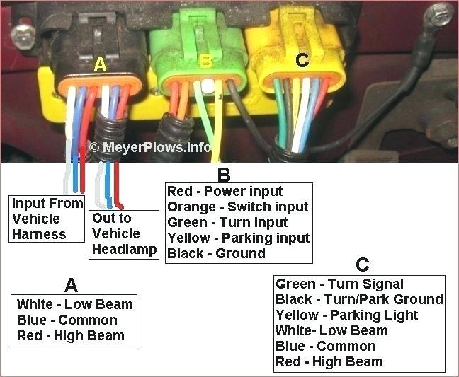 Boss Snow Plow Headlight Wiring Diagram
