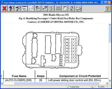 sw_2695] 07 honda odyssey fuse box schematic wiring  oxyl ivoro stre viewor mohammedshrine librar wiring 101