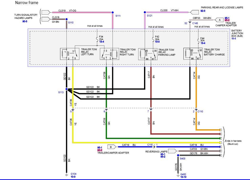 2008 Ford F550 Trailer Wiring Diagram