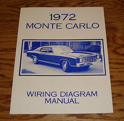Nr 3154 1972 Chevrolet Monte Carlo Wiring Diagram Schematic Wiring