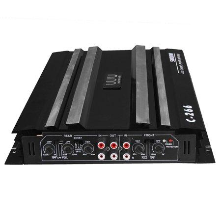 Fabulous Professional Powerful 5800 Watt 4 Channel 12V Car Stereo Amplifier Wiring Cloud Waroletkolfr09Org