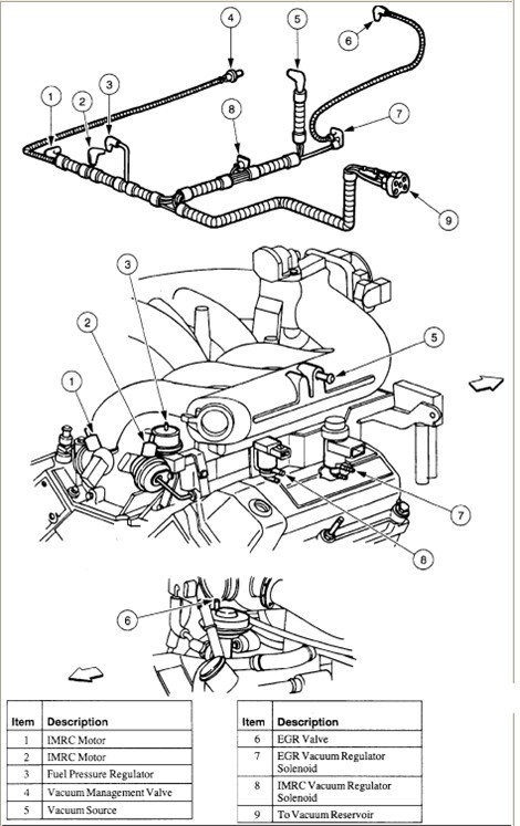 Bm 2890  Vacuum Diagram For 2000 Ford E150 Econoline Van Download Diagram