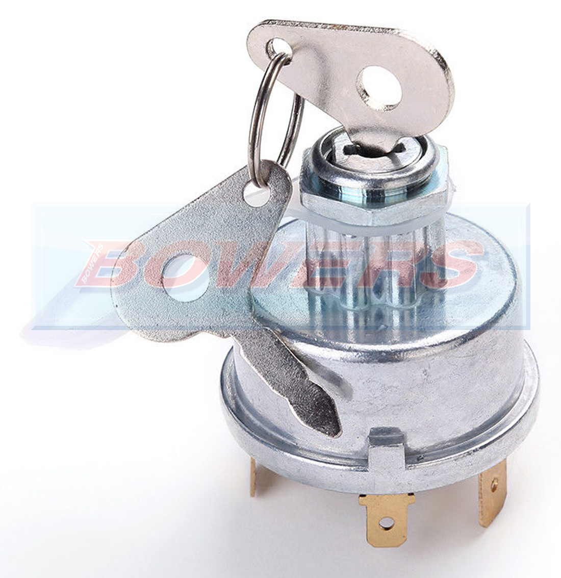 Universal 12V//24V Tractor Ignition Switch Ignition Lock Starter with 2 Keys Fits for Massey Ferguson As for Lucas 35670