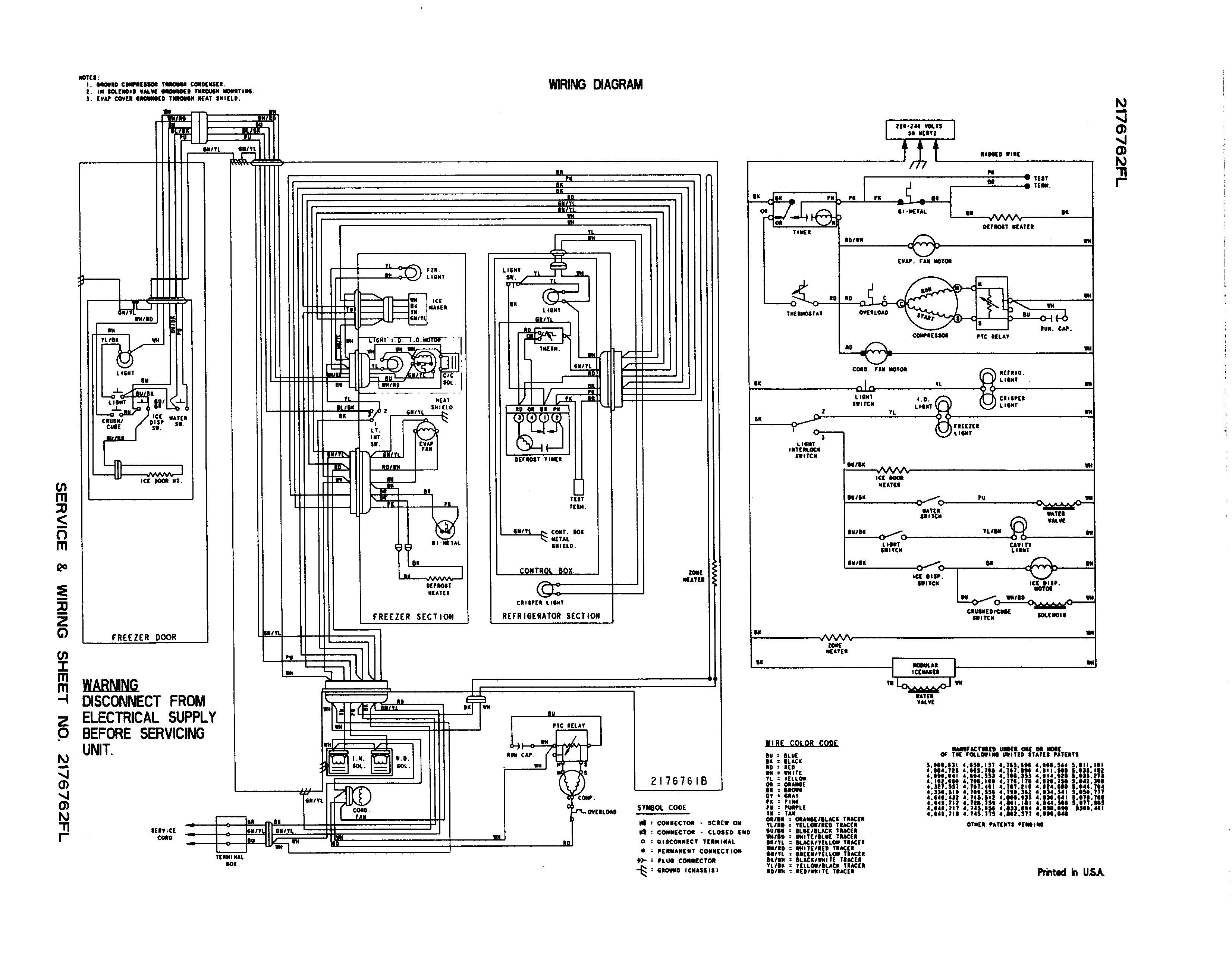 Kenmore Side By Side Refrigerator Wiring Diagram from static-assets.imageservice.cloud