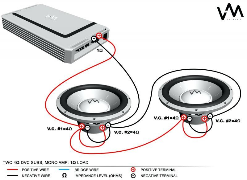lw9125 ohm subwoofer wiring diagram how to wire a dvc 2