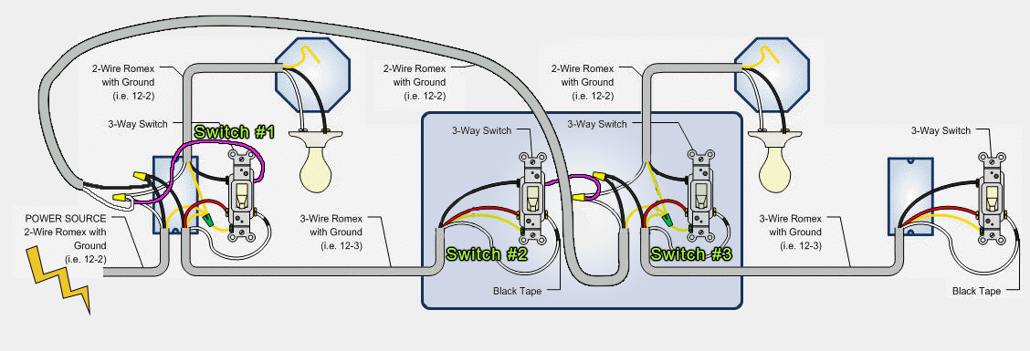 wire three way switch diagram multiple lights mz 6551  four way switch wiring download diagram  four way switch wiring download diagram