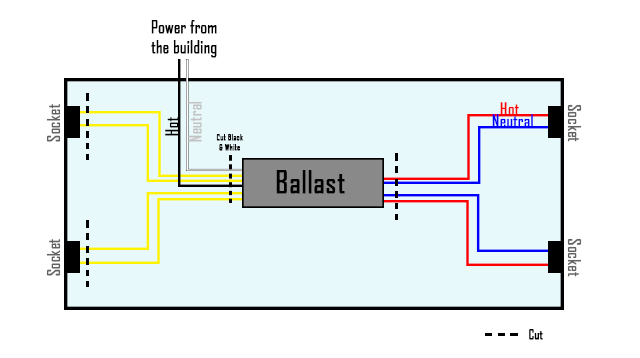 Enjoyable How To Bypass A Ballast 1000Bulbs Com Wiring Cloud Cranvenetmohammedshrineorg