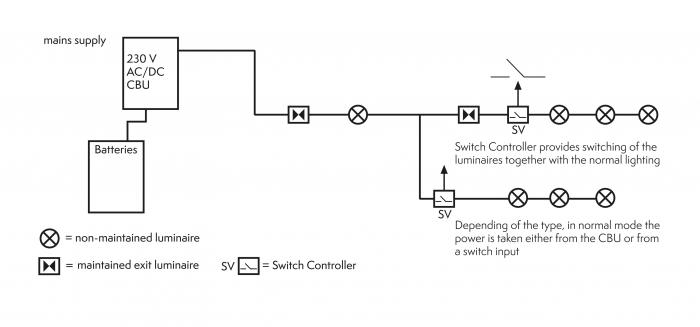 vr0481 circuit diagram of advanced emergency light wiring