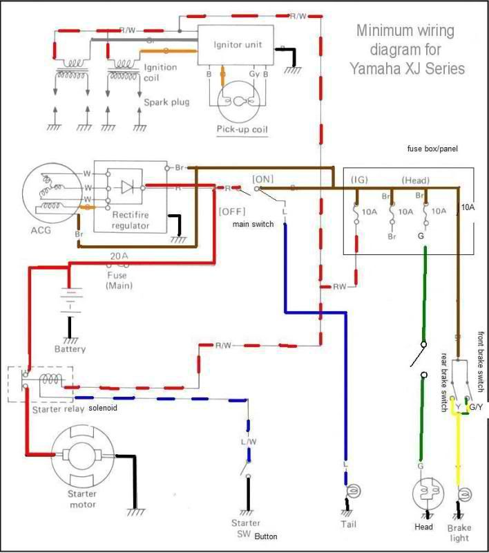 Terrific Yamaha Xj 900 Fuse Box Diagram Data Schema Wiring Cloud Rineaidewilluminateatxorg