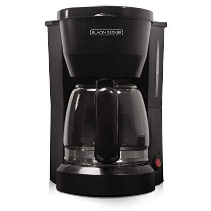 Wondrous Amazon Com Black Decker 5 Cup Coffeemaker Black Dcm600B Drip Wiring Cloud Hemtshollocom