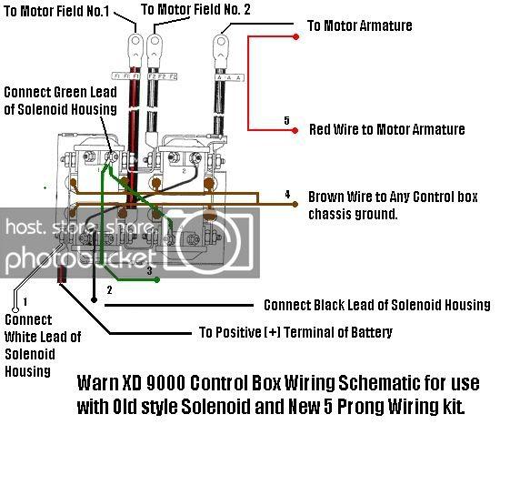 XZ_8074] Warn 8000 Winch Remote Wiring Diagram Schematic Wiring