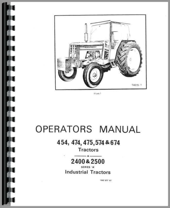 [FPER_4992]  KM_2595] Ih 454 Wiring Diagram Download Diagram | Ihc Farmall 444 Tractor Electrical Wiring Diagram |  | Estep Aidew Illuminateatx Librar Wiring 101
