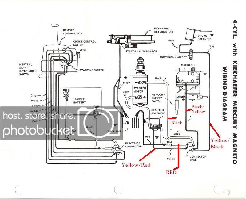 RF_9321] Mercury Optimax Tachometer Wiring Diagram Wiring Diagram