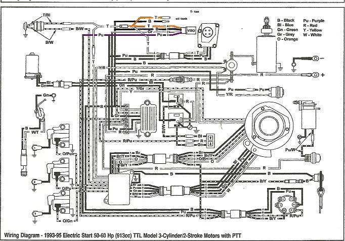 Astounding Wiring Diagram For 1989 Evinrude 100 Hp Johnson Evinrude Outboard Wiring Cloud Hemtshollocom