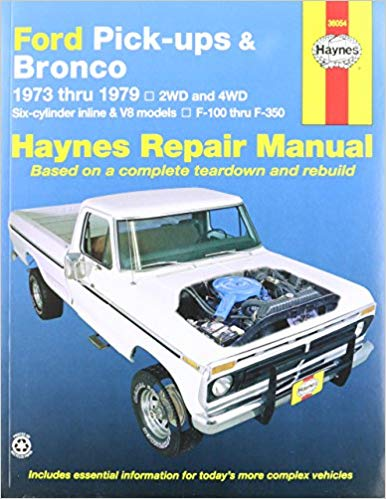 1989 FORD TRUCK SHOP REPAIR MANUAL ON CD-E BRONCO F-150 THRU 350 F-SUPER DUTY