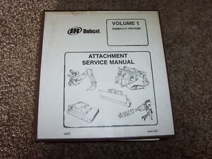 Fantastic Bobcat Hydraulic Breaker Attachment Volume 1 Shop Service Repair Wiring Cloud Rdonaheevemohammedshrineorg