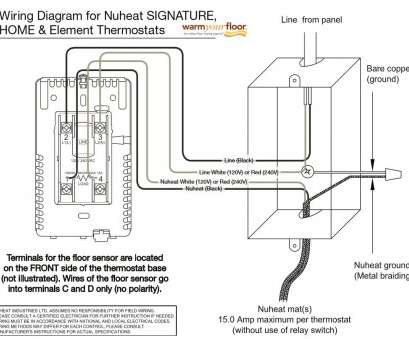 Cool 120V Thermostat Wiring Diagram Creative Baseboard Heater Thermostat Wiring Cloud Genionhyedimohammedshrineorg