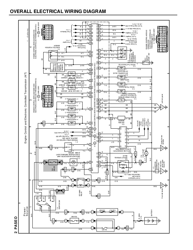 WW_7665] Toyota Paseo Distributor Wiring Download Diagram
