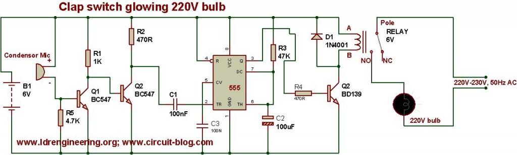 Outstanding Sound Operated Switch Circuit Diagram And Instructions Wiring Wiring Cloud Licukosporaidewilluminateatxorg