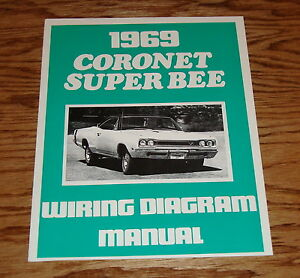 Ef 7641 1969 Dodge Charger Wiring Diagram Manual Ebay Schematic Wiring