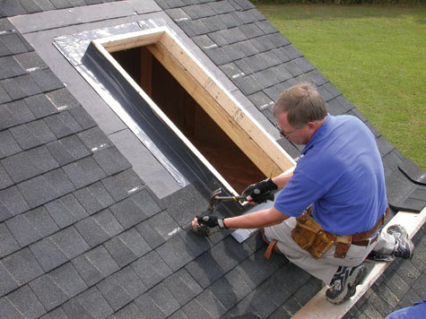 Brilliant How To Install A Skylight Hometips Com Wiring Cloud Xortanetembamohammedshrineorg