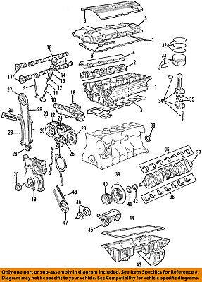 BMW OEM Lubrication System Engine Oil Pan Gasket M5 M6 M6