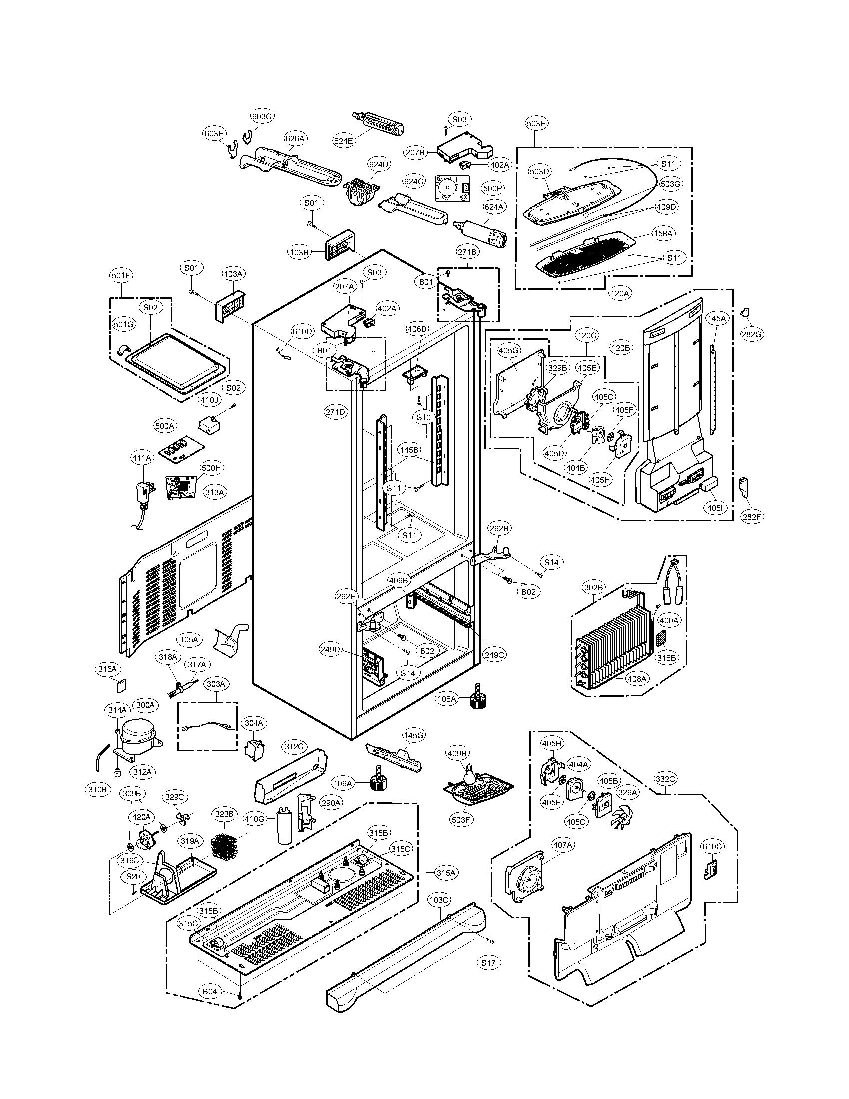 DA_6785] Door Parts Diagram And Parts List For Kenmore Elite  Refrigeratorparts Free DiagramVenet Aidew Illuminateatx Librar Wiring 101