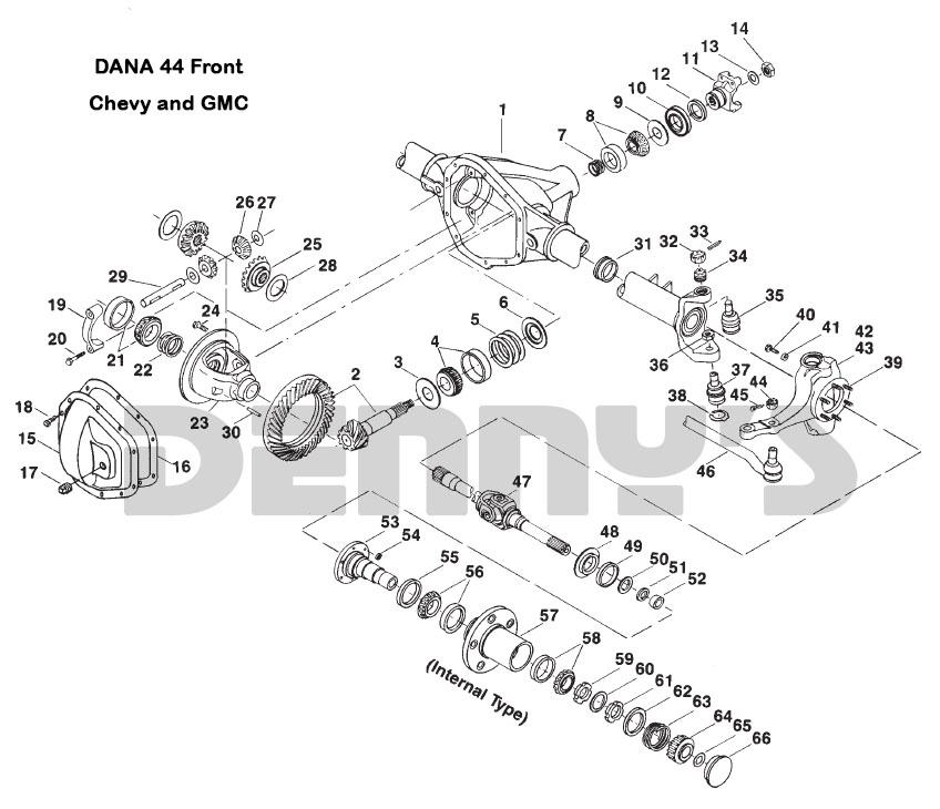 Dana 44 Front Wiring Diagram